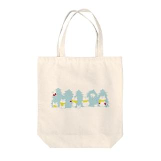 クリスマス限定 もみの木(冬色) Tote bags