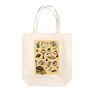 純喫茶 いろどり 背景つき Tote bags