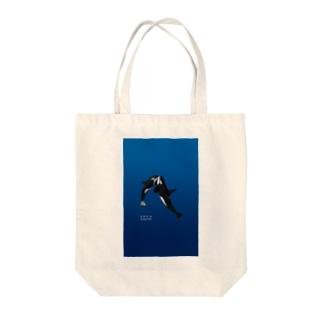 シャチ #1 Tote bags