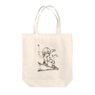 エンピツの星のアクセな12星座 獅子座 Tote bags