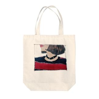 おんなのこ。 Tote bags