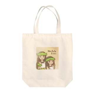 フラダンス姉妹 Tote bags