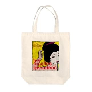 GEISHA GIRL Tote bags