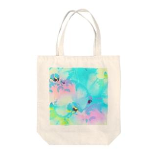 幸福が飛んでくる!イランの胡蝶蘭♡レインボー Tote bags
