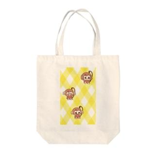 3匹のおサル Tote bags