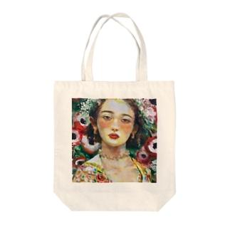 花まつりの娘 Tote bags