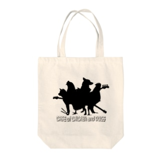 Case of CHICKEN and DOGS Tote Bag