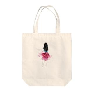 フラダンス3姉妹(アナナス) Tote bags
