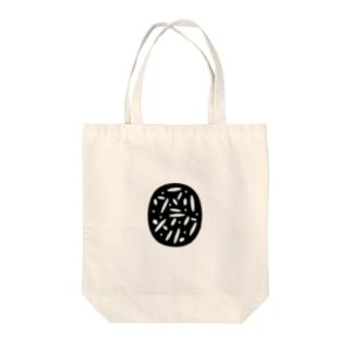 マワリテメクル ロゴ Tote bags