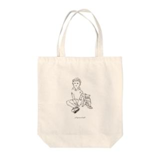 ペアルック Tote bags
