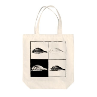 腐敗魚 Tote bags