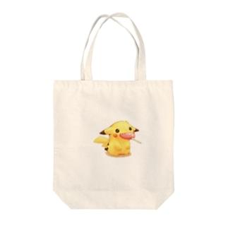 ピカチュウ Tote bags