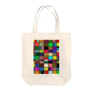 にじみ Tote bags