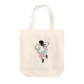 なわとび Tote bags