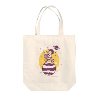Astronauts - Cycling Tote bags