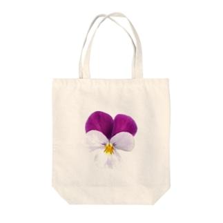 リアル〝ビオラ〟 Tote bags