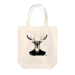 鹿 バッグ Tote bags