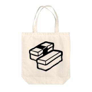 Unicode Sushi (U+1F363)  Tote bags