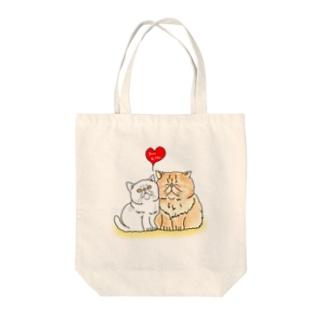 ぶん&うるさん Tote bags