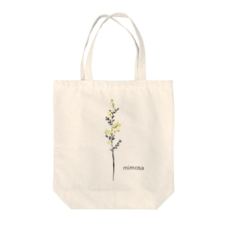 mimosa・ミモザ・みもざ Tote bags