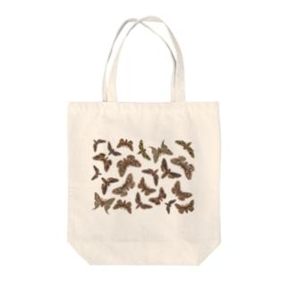 欧州の蛾 Tote bags