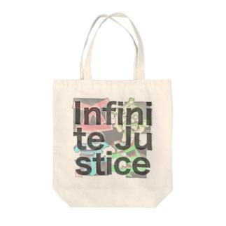 Infinite Justice Tote bags