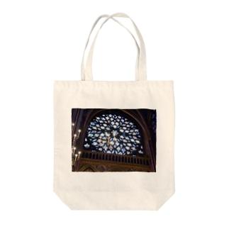 ステンドグラス Tote bags