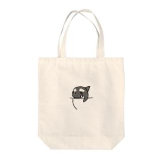 #シャチくん in ポッケ Tote bags