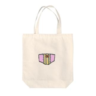 おぱんてぃ Tote bags