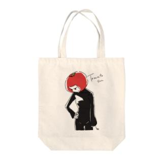 トマトさん Tote bags