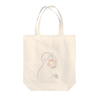 ordinary day Tote bags