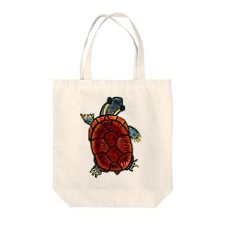 ミシニちゃん Tote bags