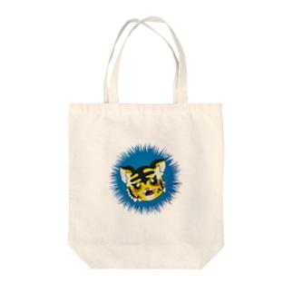 虎のトラ子 Tote bags