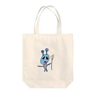 アクマ Tote bags