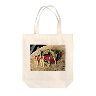 たこす。 Tote bags