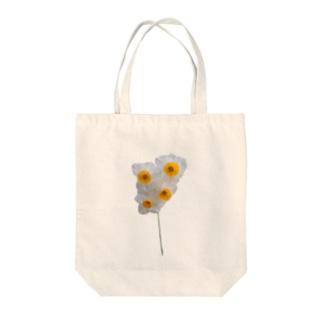 リアル〝スイセン〟2 Tote bags