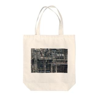工場・配管 Tote bags
