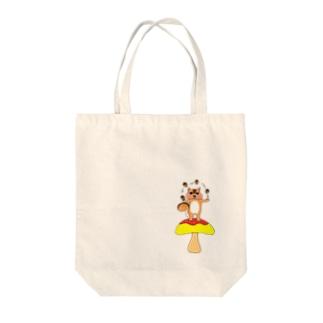 ユリスの森Ⅱ Tote bags