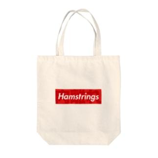 「ハム肉離れ」 Tote bags