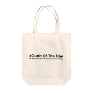 #Outfit Of The Day Tote bags