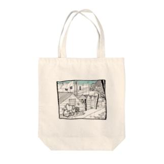 CITY Tote bags