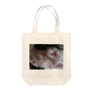 ( ˘ω˘ ) スヤァ… Tote bags