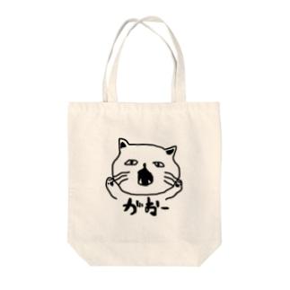 凶暴な猫 Tote bags