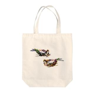 おばあちゃんの仏画 Tote bags