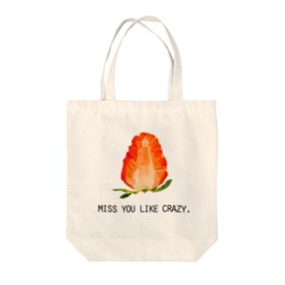 初恋イチゴ Tote bags