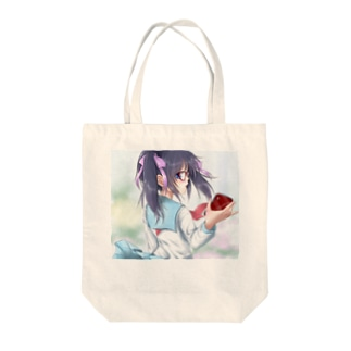 メガネ娘 Tote bags