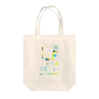 絵の具セット Tote bags