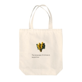 LePuyの陶土ミモザと花言葉 Tote bags