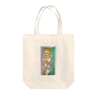 ギャル子 Tote bags