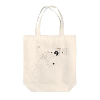 手 switch Tote bags